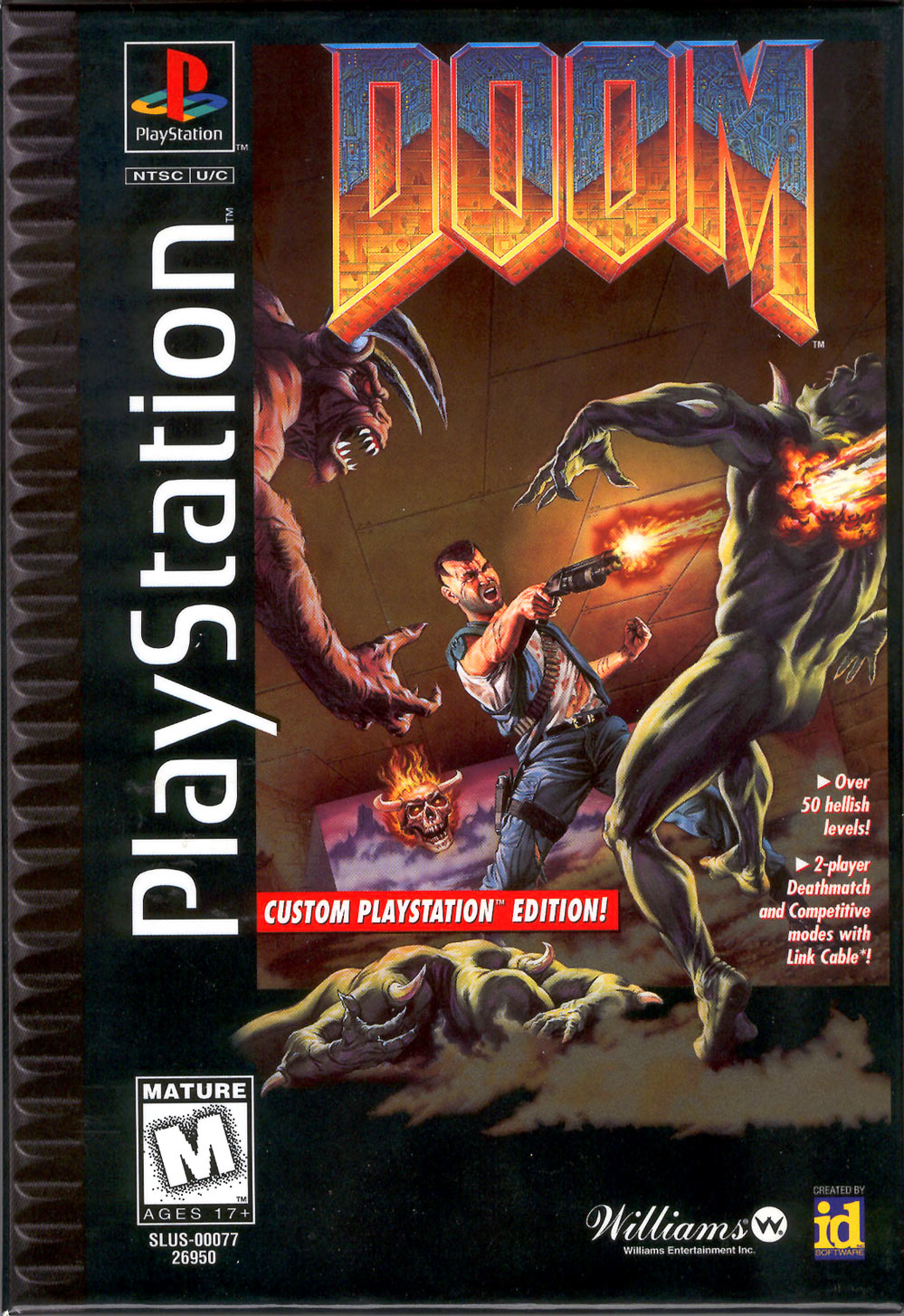 How can I find a contemporary review of Doom 1 (1993)?