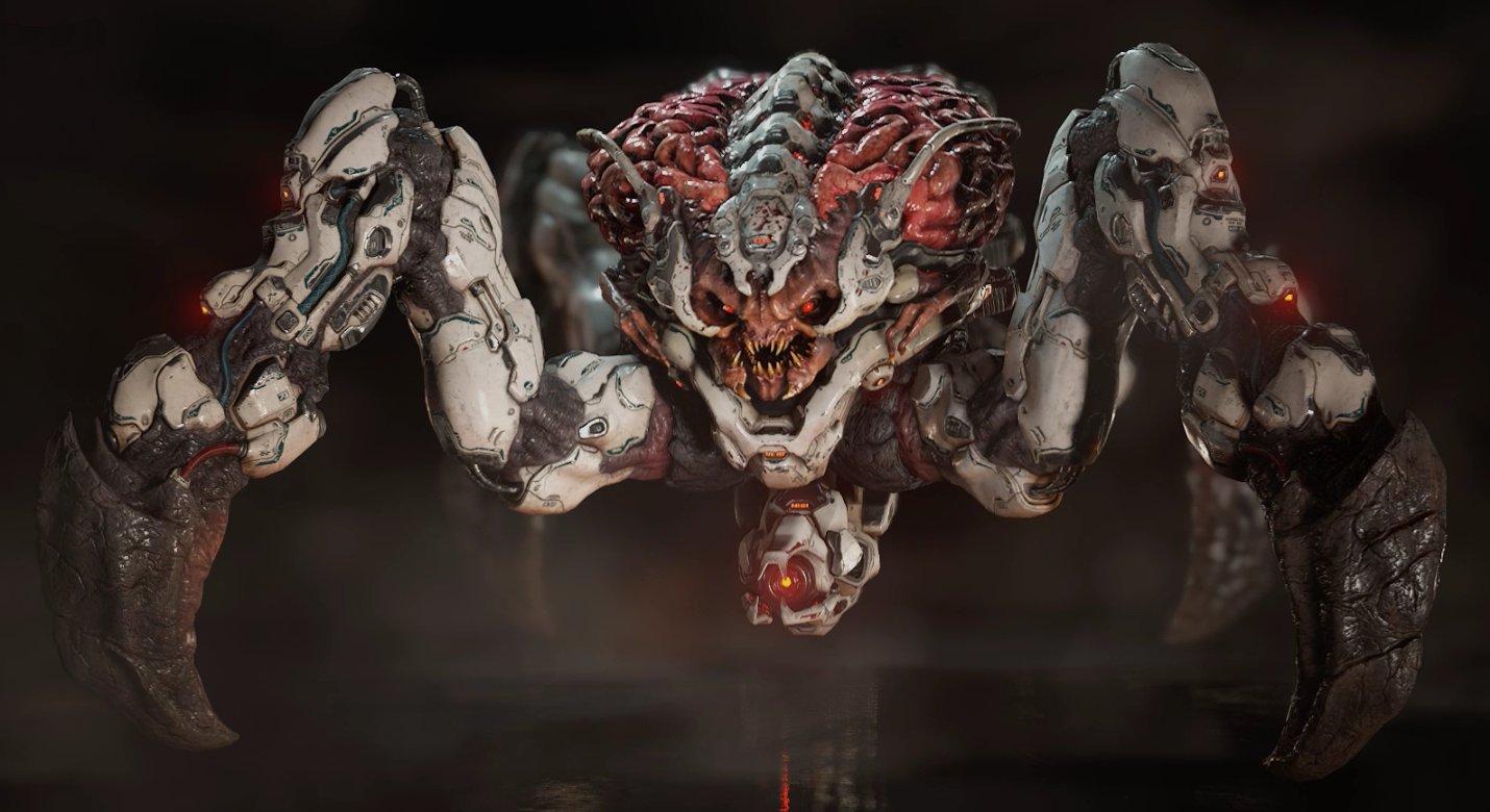 Spider Mastermind Doom 2016 The Doom Wiki At Doomwiki