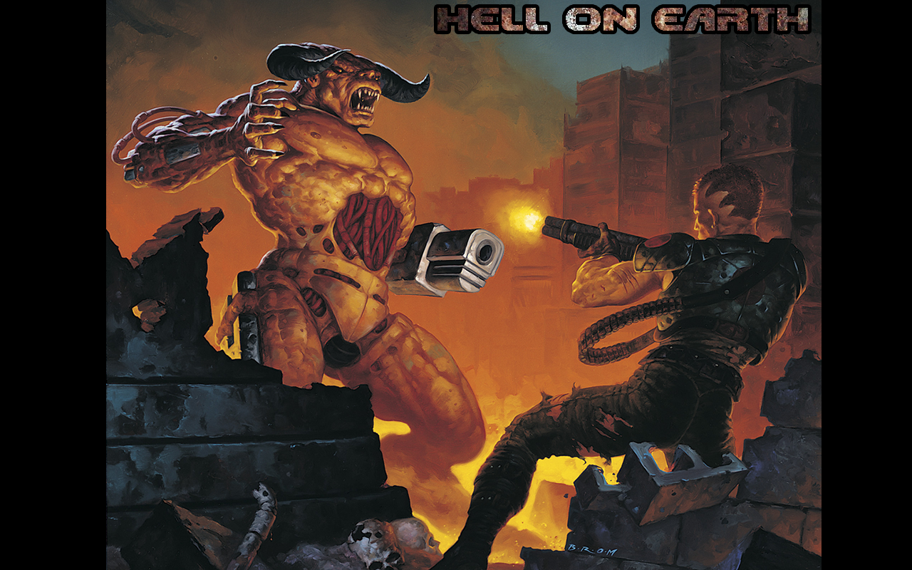Brutal Doom: Hell on Earth Starter Pack - The Doom Wiki at DoomWiki org