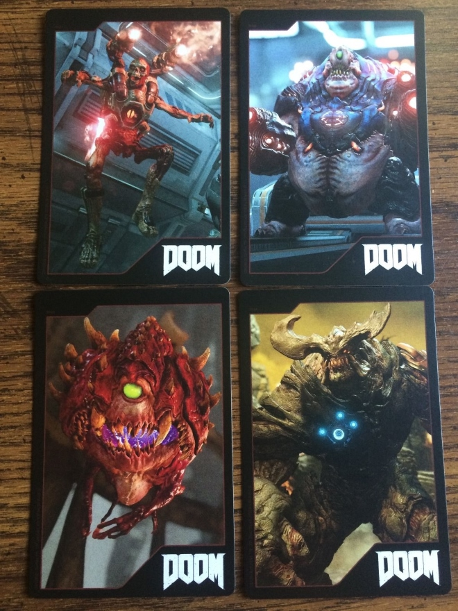 GameStop Doom demon cards - The Doom Wiki at DoomWiki org