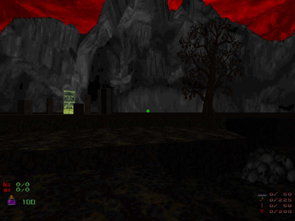 MAP05: Wrong Turn at Albuquerque (Ghoul School 3D) - The