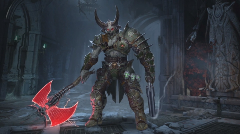 all marauder skins doom eternal