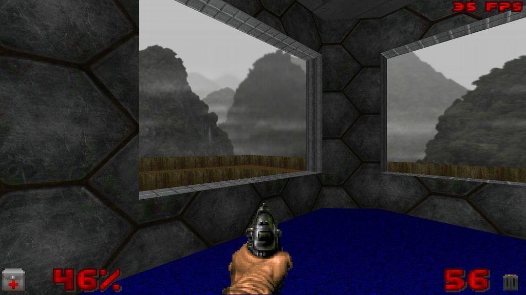 O que são shaders de um jogo? DelphiDoom_True_Color_Software_Renderer_2