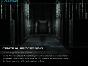 Central Processing: Primary Server Bank