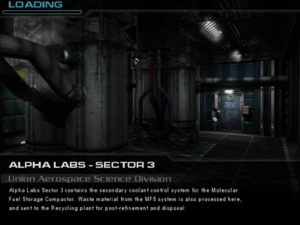 Alpha Labs - Sector 3: Union Aerospace Science Division