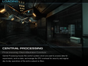 Central Processing: Processing Distribution Center