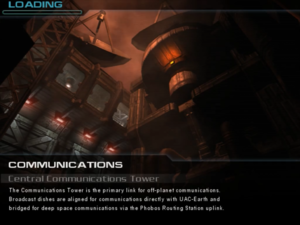 Communications: Central Communications Tower - The Doom Wiki