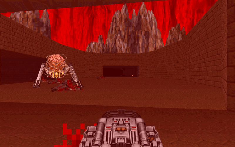File:DoomII MAP23 Spider.png