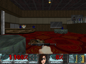 MAP15: Dark Territory (Project Einherjar) - The Doom Wiki at