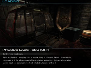 Phobos Labs - Sector 1: Teleportation