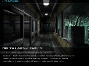 Delta Labs - Level 3: Union Aerospace Research Division