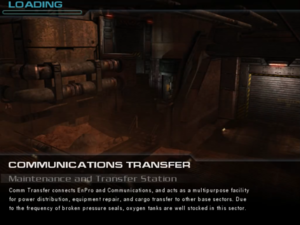 Communications Transfer: Maintenance and Transfer Station