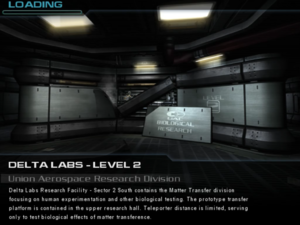 Delta Labs - Level 2a: Union Aerospace Research Division