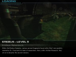 Erebus - Level 5: Erebus Research