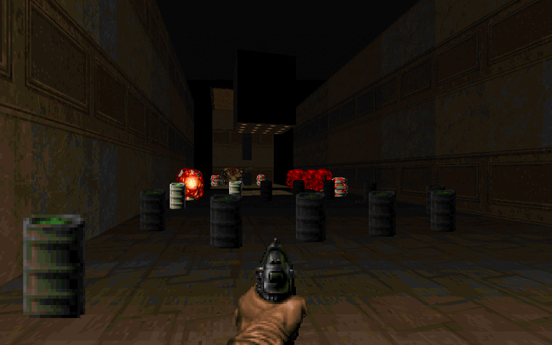 File:DoomII MAP23 Barrels.png
