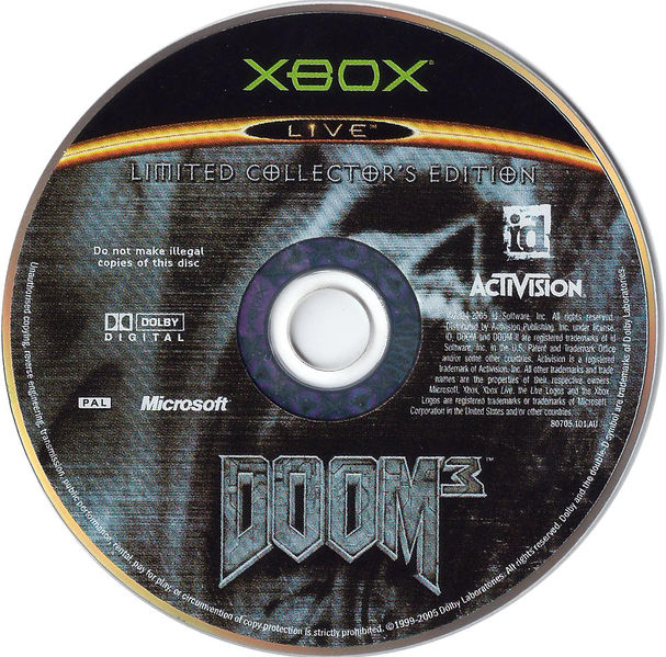 File:Doom 3 LCE XBOX DISC PAL.jpg