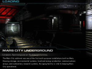 Mars City Underground: Union Aerospace Subsystems - The Doom Wiki at